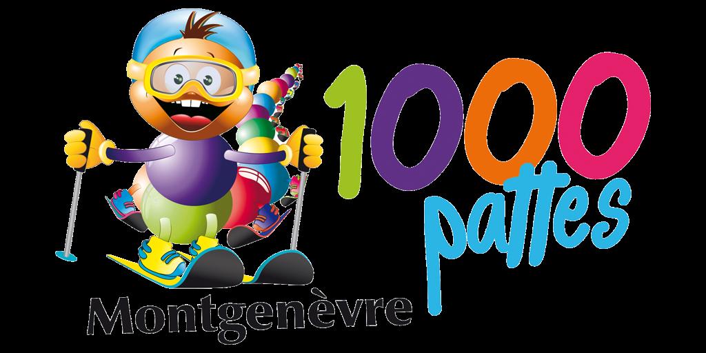 Logo course de la 1000 Pattes - Montgenèvre - Hautes Alpes